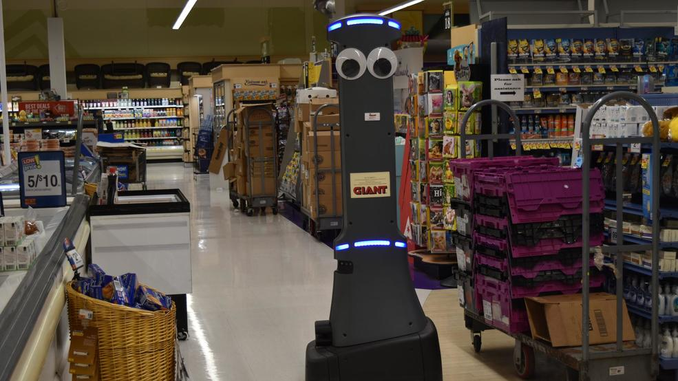 Marty the robot in a Pennsylvania store (WHP)