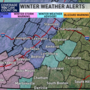 NWS issues Winter Storm Warning west of Lynchburg, freezing rain and sleet expected
