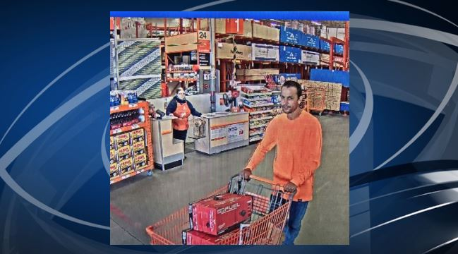 The West Jordan Police Department is seeking the public's help identifying a man who stole over $1,000 worth of tools from a Home Depot. (Photo courtesy of the West Jordan Police Department)