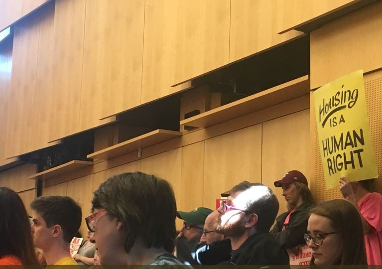 The Seattle City Council approved a compromise head tax on Monday. May 14, 2018. (Photo: KOMO News)