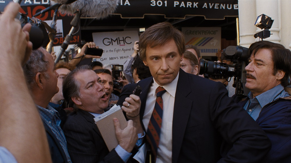 "Hugh Jackman stars as Gary Hart in Jason Reitman's film ""The Front Runner."" (Photo: Sony Pictures)"