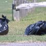 Hundreds of pounds of garbage left behind at Durand Park