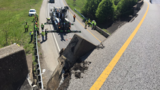 TDOT reopens I-75 N ramp onto I-24 W after overpass railing falls onto road Monday