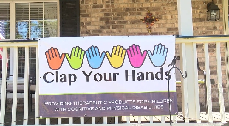 Clap Your Hands is a small group of volunteers who make therapeutic products for children with cognitive and physical disabilities - free of charge within the Low Country of South Carolina. (WCIV)