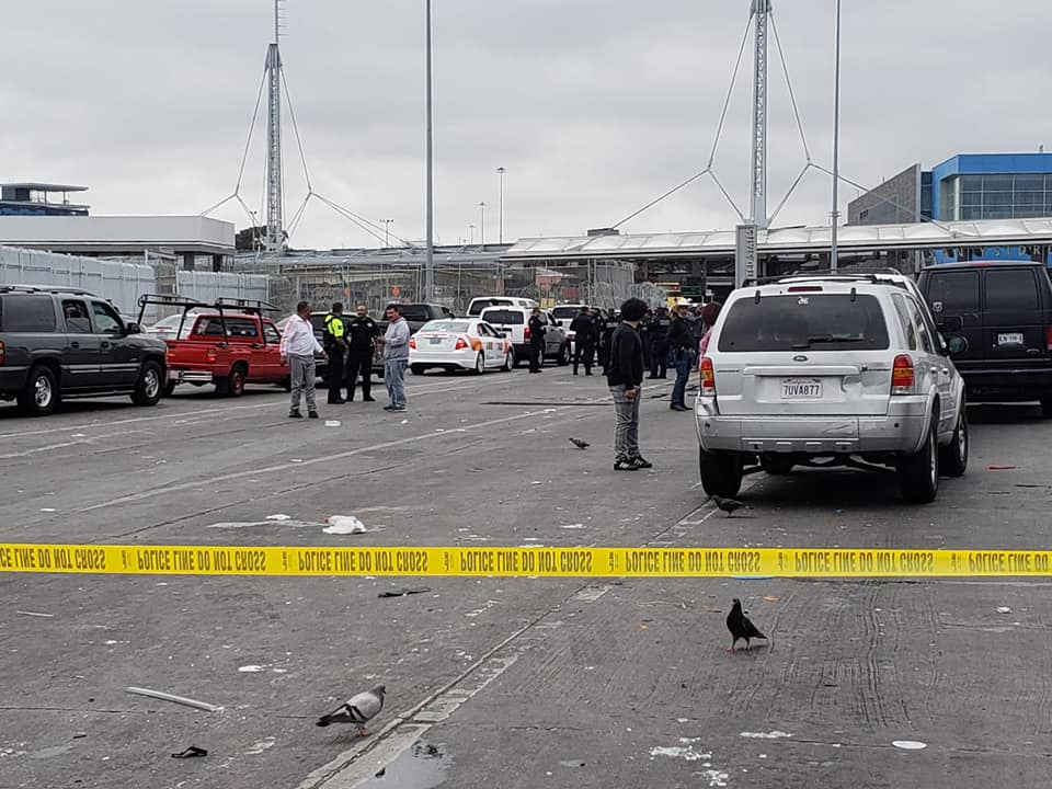 Tuesday night, Mexican officials confirmed to 2News that Frank Eddie Stricker, 29, of Magna remains in jail and could face charges of attempted murder for ramming his truck into several vehicles and street vendors at the La Garita border crossing in Tijuana on Monday. (Photo courtesy of Secretary of Public Safety Tijuana)