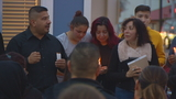 Family and friends grieve at vigil for Burien woman killed by stray bullet