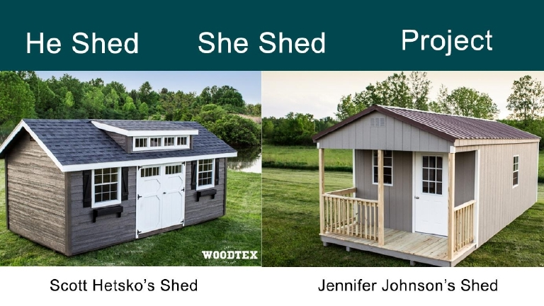 He Shed She Shed Project