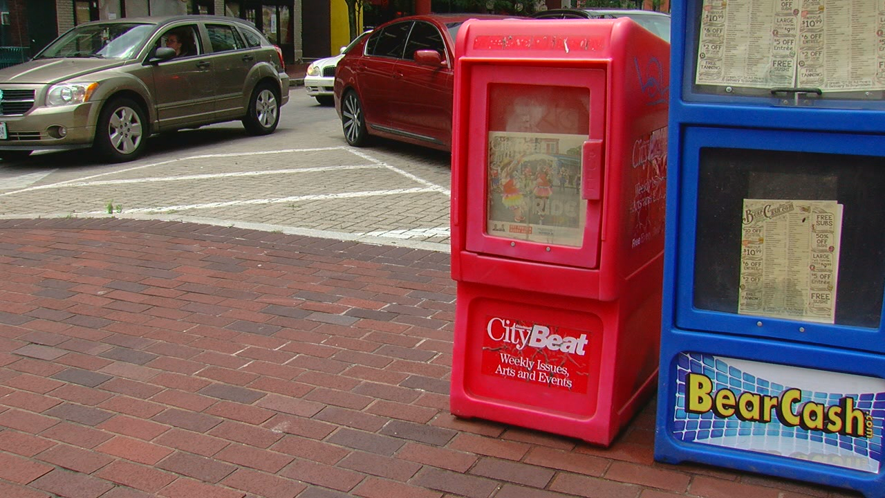 3CDC decided to return the newspaper boxes and will work on maintenance and appearance issues.(WKRC)