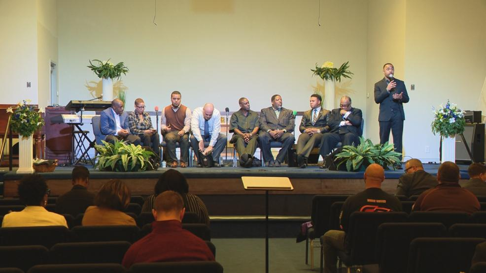 On Thursday night, a sitdown was held bringing together local police and area pastors. The aim of the meeting was to stop the bloodshed. (WSYX/WTTE)
