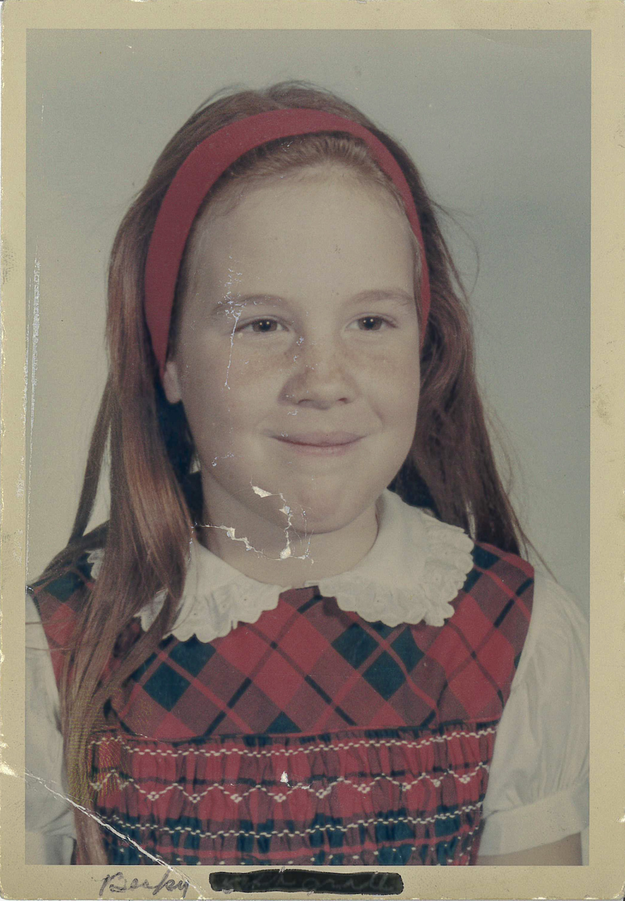 Becky Ianni childhood photo.