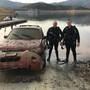 Recovered submerged vehicle in Shasta Lake determined to have been stolen in 2016