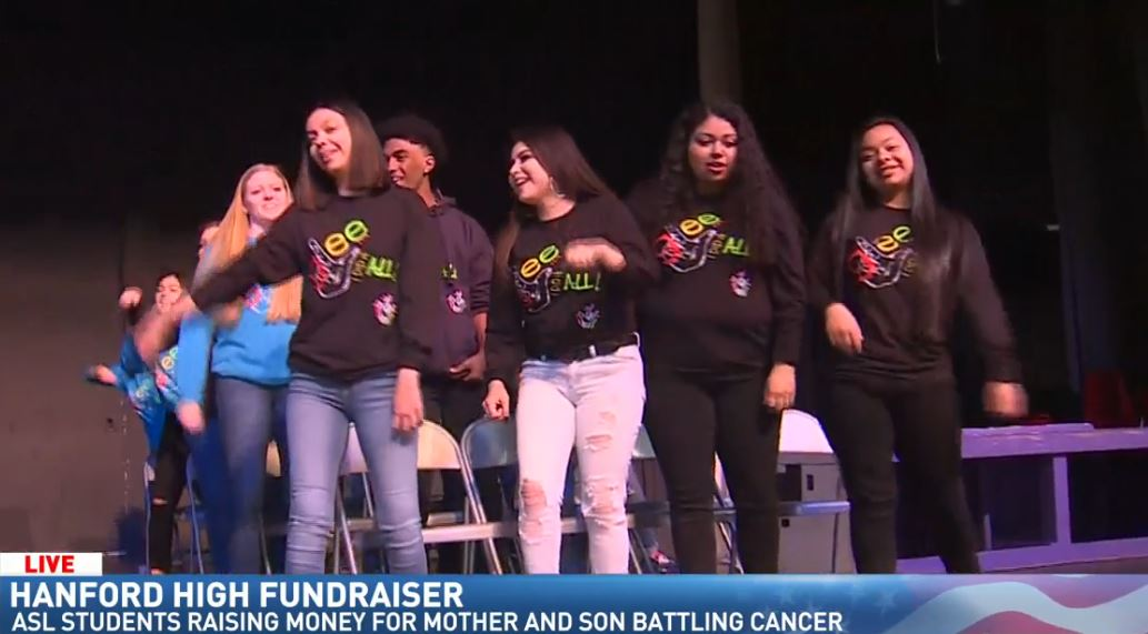 Michael previews Hanford High's ASL fundraiser