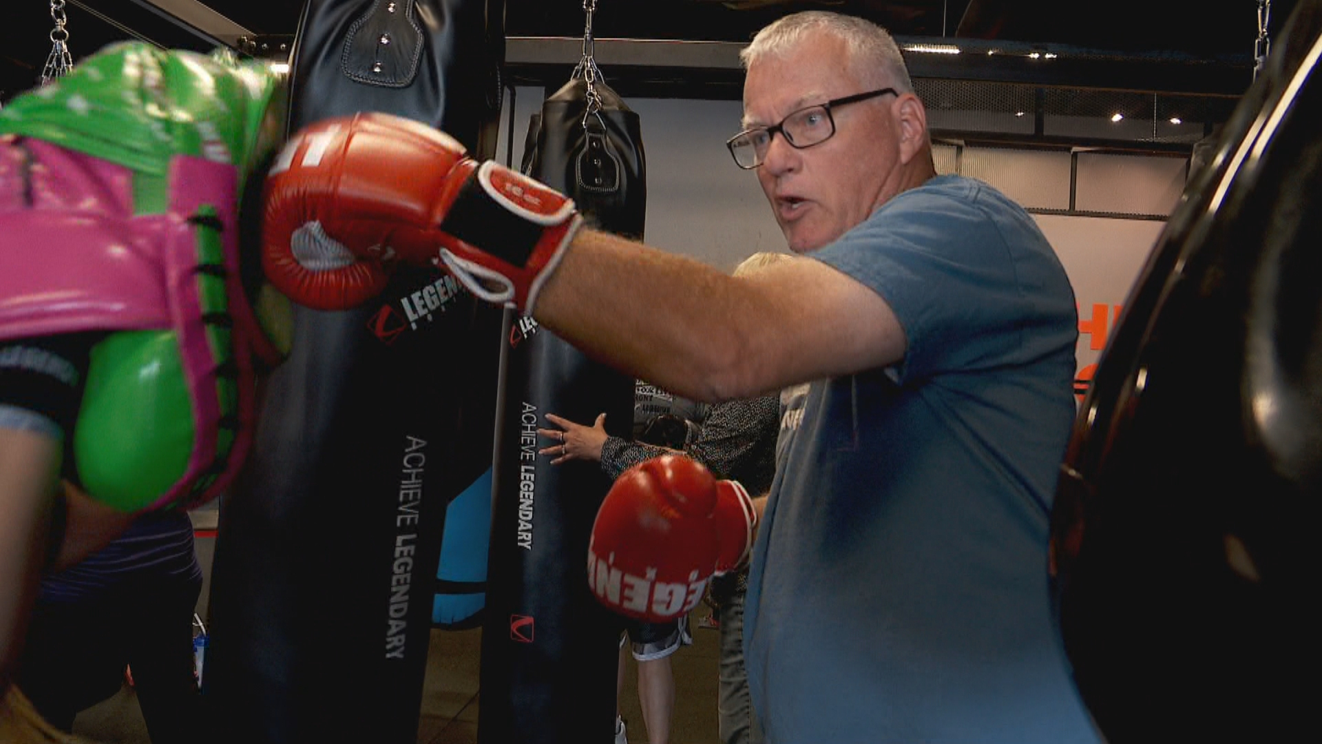 Inside the Story: Fighting Parkinson's through punches (Photo: KUTV)