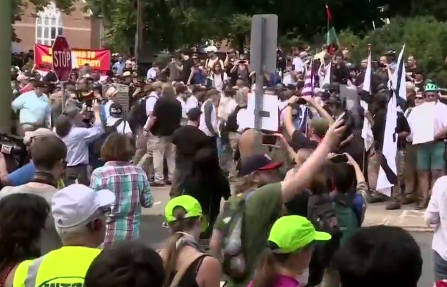 President Trump calls for condemnation of hate following violent rally in Virginia (CNN Newsource)