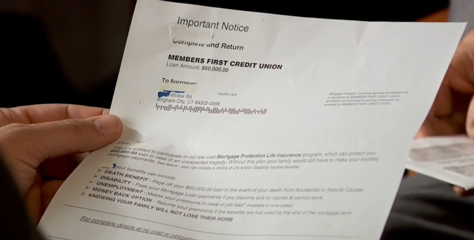 That insurance ad with your lender's name on it isn't really from your lender (Photo: KUTV)