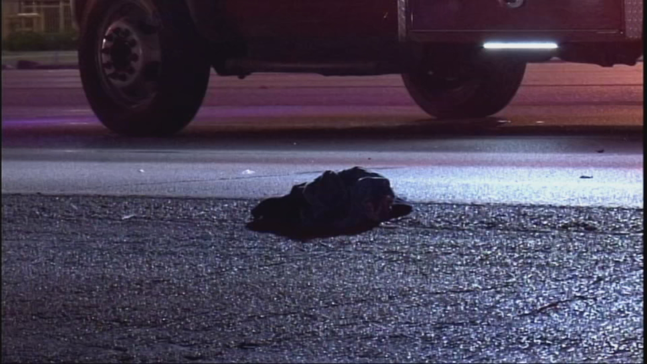 A man is in the hospital after being hit by a vehicle on the Northeast Side. (SBG San Antonio)