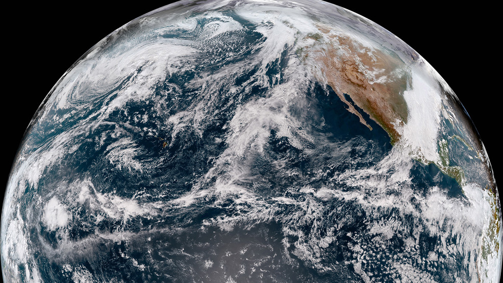 New GOES-17 weather satellite sends back first pics from new West Coast position