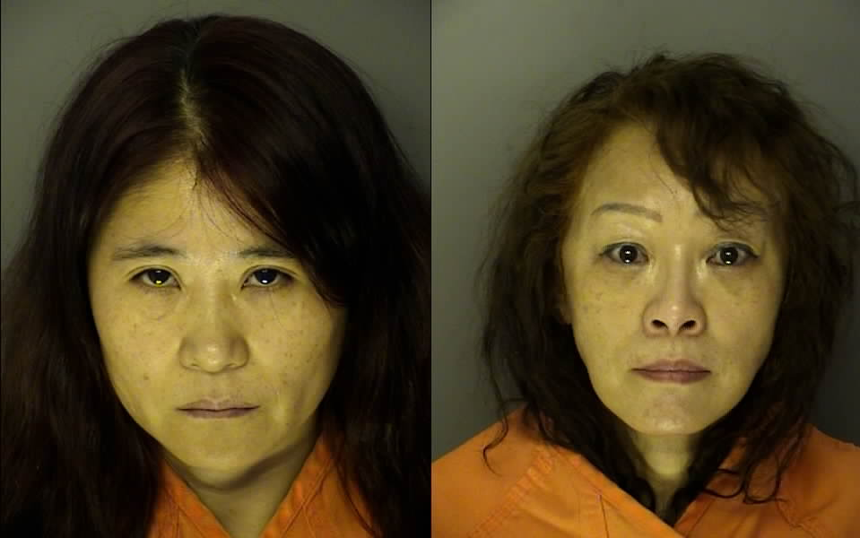 Pei Cai and Weifen Chen. (Credit: J. Reuben Long Detention Center)