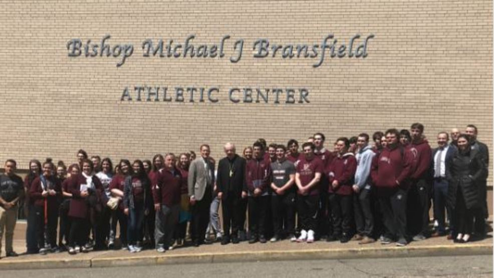 Wheeling Central renames athletic facility after Bishop Michael Bransfield