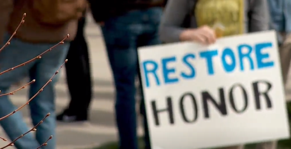 After months of meeting with students and a protest on campus last month, BYU announced changes to its Honor Code enforcement procedures. (Photo: Daniel Kovach / KUTV FILE)